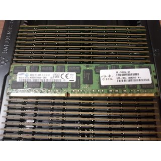 Cisco 15-14069-01 8GB DDR3 PC3-14900R ECC REG RAM M393B1K70QB0 1866MHz 2Rx4